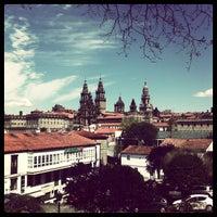 Photo taken at Parque da Alameda by Alberto on 4/14/2013