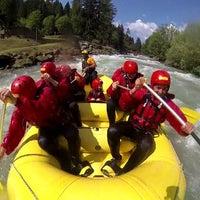 Foto scattata a Euro Rafting da Vita Nova Trentino Wellness il 8/29/2013