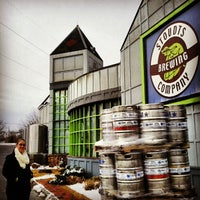 Photo taken at Stoudts Brewing Company by Mitch R. on 12/31/2012