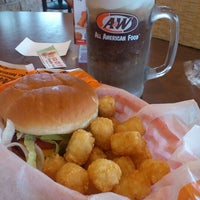 Photo taken at A & W by Pancho G. on 2/6/2013