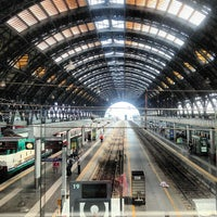 Photo taken at Milano Centrale Railway Station by Sterling R. on 6/15/2013