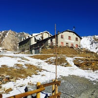 Photo taken at Rifugio Pizzini by Andrea M. on 12/28/2015