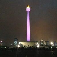 Photo taken at Lapangan Silang Monas by Rocky N. on 4/17/2013