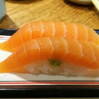 Photo taken at Isobune Sushi by Maria V. on 1/21/2017