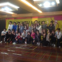 Photo taken at 뮤지컬하우스 by SI-EUN A. on 11/5/2012