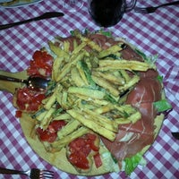 Photo taken at L'Osteria di Cicerone by Francesca Q. on 7/10/2014
