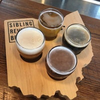 Photo taken at Sibling Revelry Brewing by Christopher G. on 9/1/2017