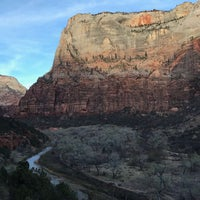 Photo taken at Upper Emerald Pool Trail by Shikher S. on 3/30/2018