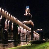 Foto scattata a Castello Sforzesco da Federico M. il 7/8/2013