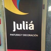 Photo taken at Julia Pinturas Y Decoracion by Paula O. on 11/28/2013