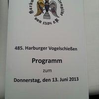 Photo taken at 485. Harburger Vogelschießen der Harburger Schützengilde von 1528 e. V. by Christian on 6/13/2013