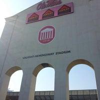 Photo taken at Vaught-Hemingway Stadium by Glennis C. on 10/13/2012