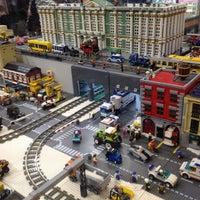 Снимок сделан в GameBrick. музей-выставка моделей из кубиков LEGO пользователем Julia 1/4/2014