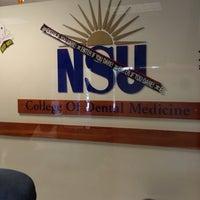 Photo taken at NSU: Dental Medicine by Galyna ✈ on 10/17/2012