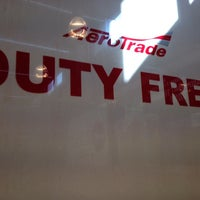 Photo taken at Duty Free Aerotrade by Dasha N. on 3/19/2014