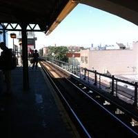 Photo taken at MTA Subway - Astoria/Ditmars Blvd (N/W) by J Freeman R. on 8/15/2013