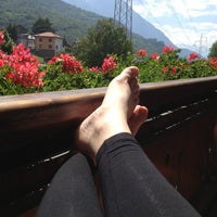 Photo taken at Hotel Comtes De Challant Fenis by Indhja N. on 6/21/2013