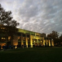 Photo taken at Allen Fieldhouse by Bryan A. on 10/30/2012