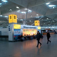 Photo taken at London Stansted Airport (STN) by István K. on 2/14/2013