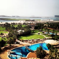 Photo taken at Le Royal Méridien Beach Resort & Spa by Ekaterina on 5/9/2013