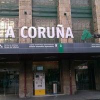 Photo taken at Estación de A Coruña-San Cristobal by Pablo on 11/25/2012