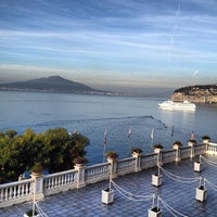 Photo taken at Europa Palace Grand Hotel Sorrento by Theo A. on 10/18/2013