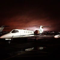 Photo taken at Teterboro Airport (TEB) by Kimba D. on 12/11/2012