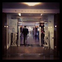 Photo taken at Biblioteca Escuela Técnica Superior de Arquitectura (UPM) by Bea V. on 2/12/2013