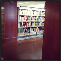 Photo taken at Biblioteca Escuela Técnica Superior de Arquitectura (UPM) by Bea V. on 4/3/2013