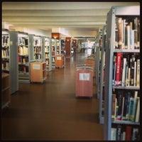 Photo taken at Biblioteca Escuela Técnica Superior de Arquitectura (UPM) by Bea V. on 2/4/2013