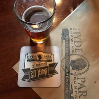 Photo taken at Hyde Park Brewing Co. by Chris P. on 11/25/2016