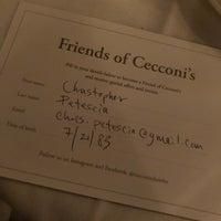 1/31/2018 tarihinde Chris P.ziyaretçi tarafından Cecconi's Dumbo'de çekilen fotoğraf