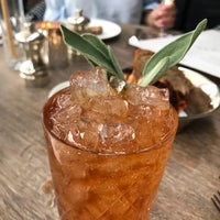 Photo taken at Cecconi's Dumbo by Chris P. on 7/28/2017