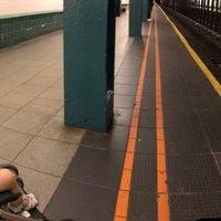 Photo taken at MTA Subway - Bergen St (F/G) by Chris P. on 6/4/2017
