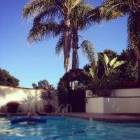Photo taken at Montecito Inn by Elizabeth M. on 3/27/2015