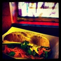 Photo taken at Num Pang Sandwich Shop by Elizabeth M. on 3/2/2013