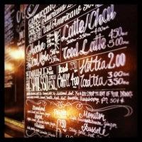 Photo taken at Cafe Edna by Elizabeth M. on 8/5/2013