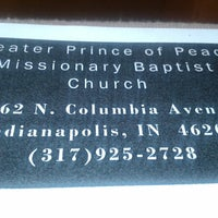 Photo taken at Greater Prince of Peace Missionary Baptist Church by Qiara C. on 6/9/2013
