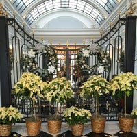 Photo taken at Greenhouse at the Jefferson Hotel by Tina W. on 12/22/2014