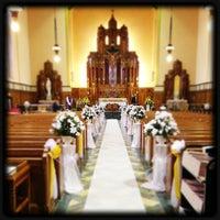 Photo taken at Queen of Angels Parish by hav0c1 on 5/24/2013