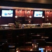 Photo taken at The Rack Sushi Bar & Billiards Lounge by Eddie R. on 12/12/2012