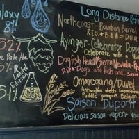 Photo taken at WHYM Craft Beer Cafe by Carla J. on 5/24/2013