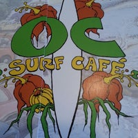 Photo taken at OC Surf Cafe by Stephen R. on 7/1/2013