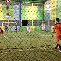 Photo taken at Lapangan Futsal BSC (Ringroad) by Maia A. on 7/17/2013