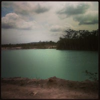 Photo taken at Tambang Kaolin, Belitung by mega p. on 1/14/2013