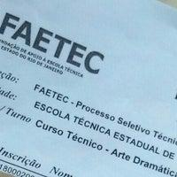 Photo taken at Escola Estadual de Teatro Martins Pena by Rafael M. on 7/22/2013