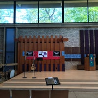 Photo taken at Unitarian Universalist Church Of Arlington by trippNfallN on 10/1/2017