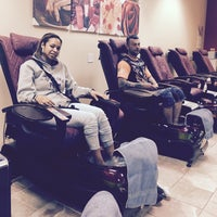 Photo taken at relax nails & spa by Victoria W. on 2/28/2016