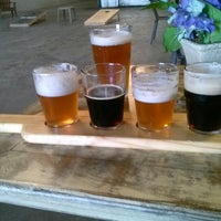 Photo taken at Due South Brewing Co. by Nikki j. on 1/2/2013