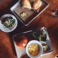 Photo taken at Butcher & Bee by Joshua C. on 1/17/2015